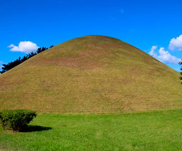 tumulo funerario gyeongju
