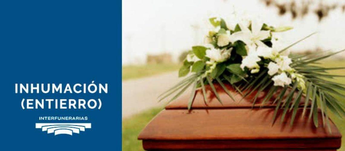 inhumación entierro