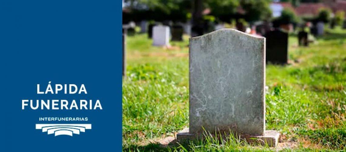 lápida funeraria